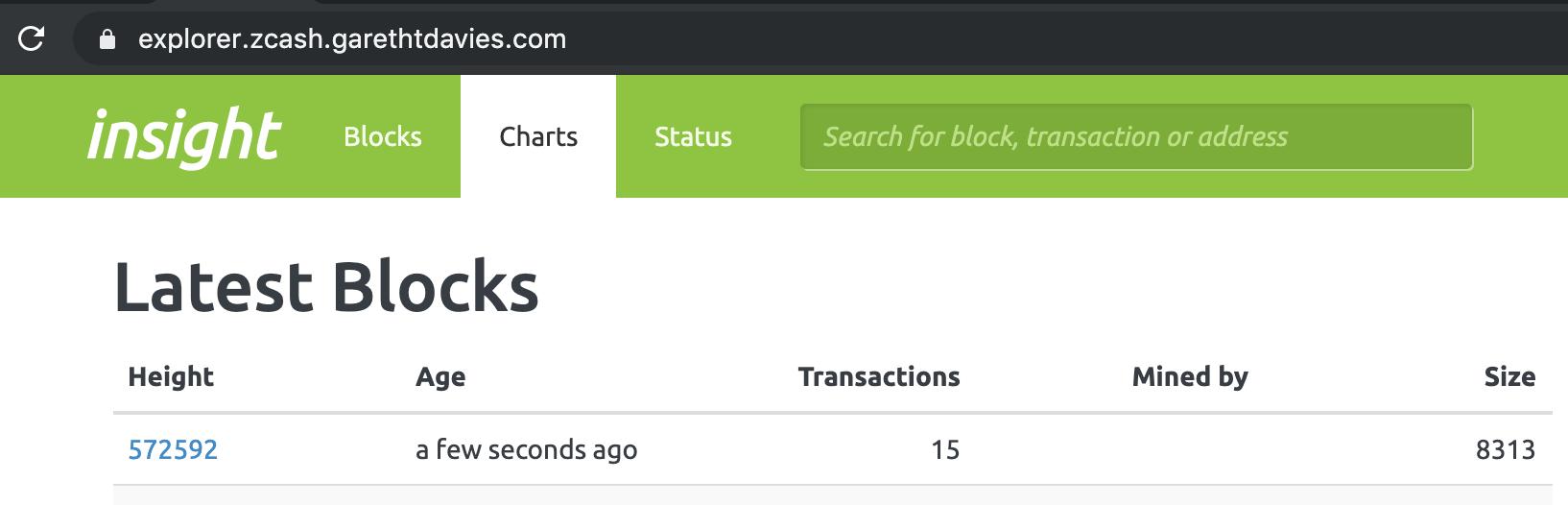 Insight explorer running on custom domain with Let's Encrypt cert